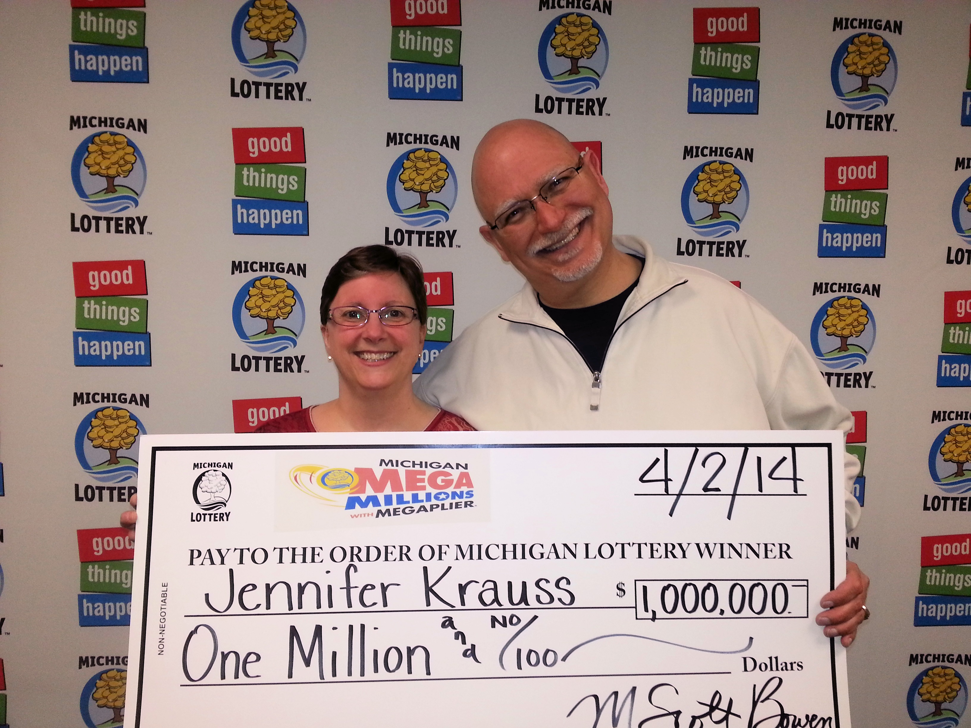 Michigan Lottery Player From Westland Wins 1 Million With Mega Millions Game Michigan Lottery Connect
