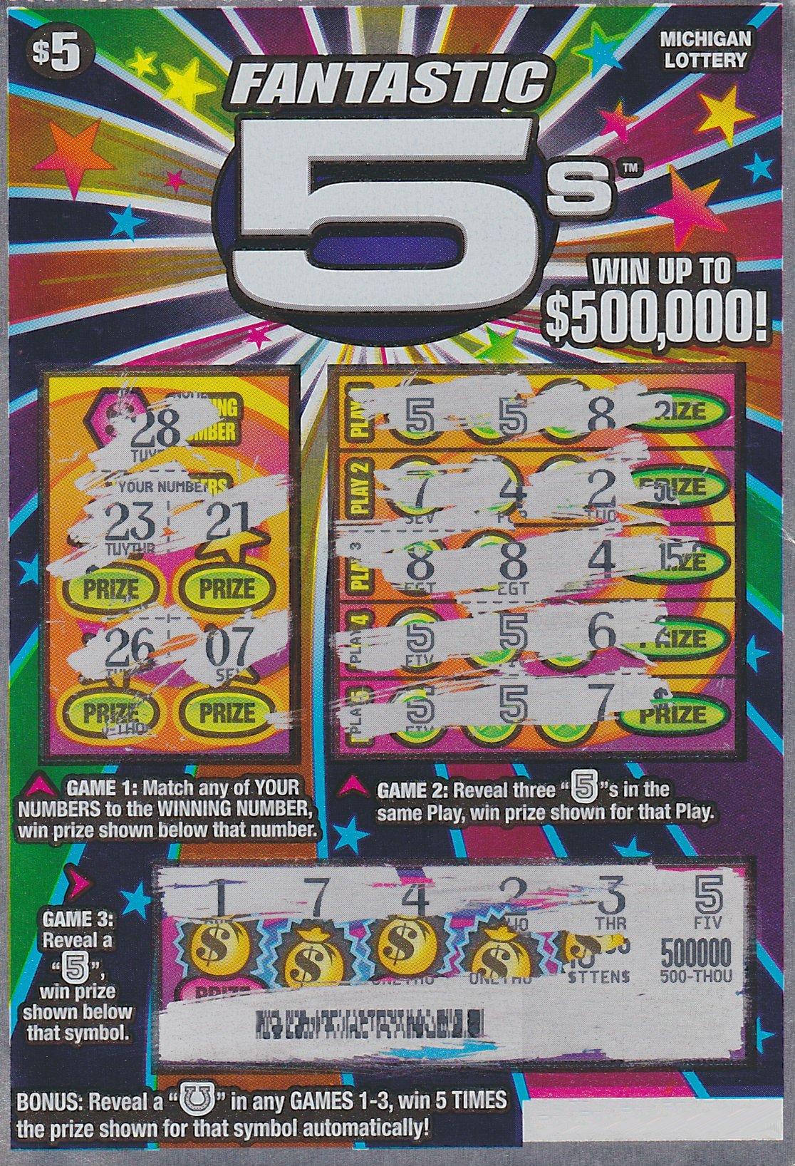 Wayne County Man Wins 500 000 From Michigan Lottery
