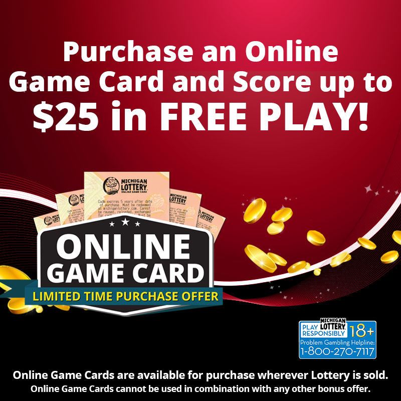 Online Game Card Purchases Offer Bonus Free Play to ...