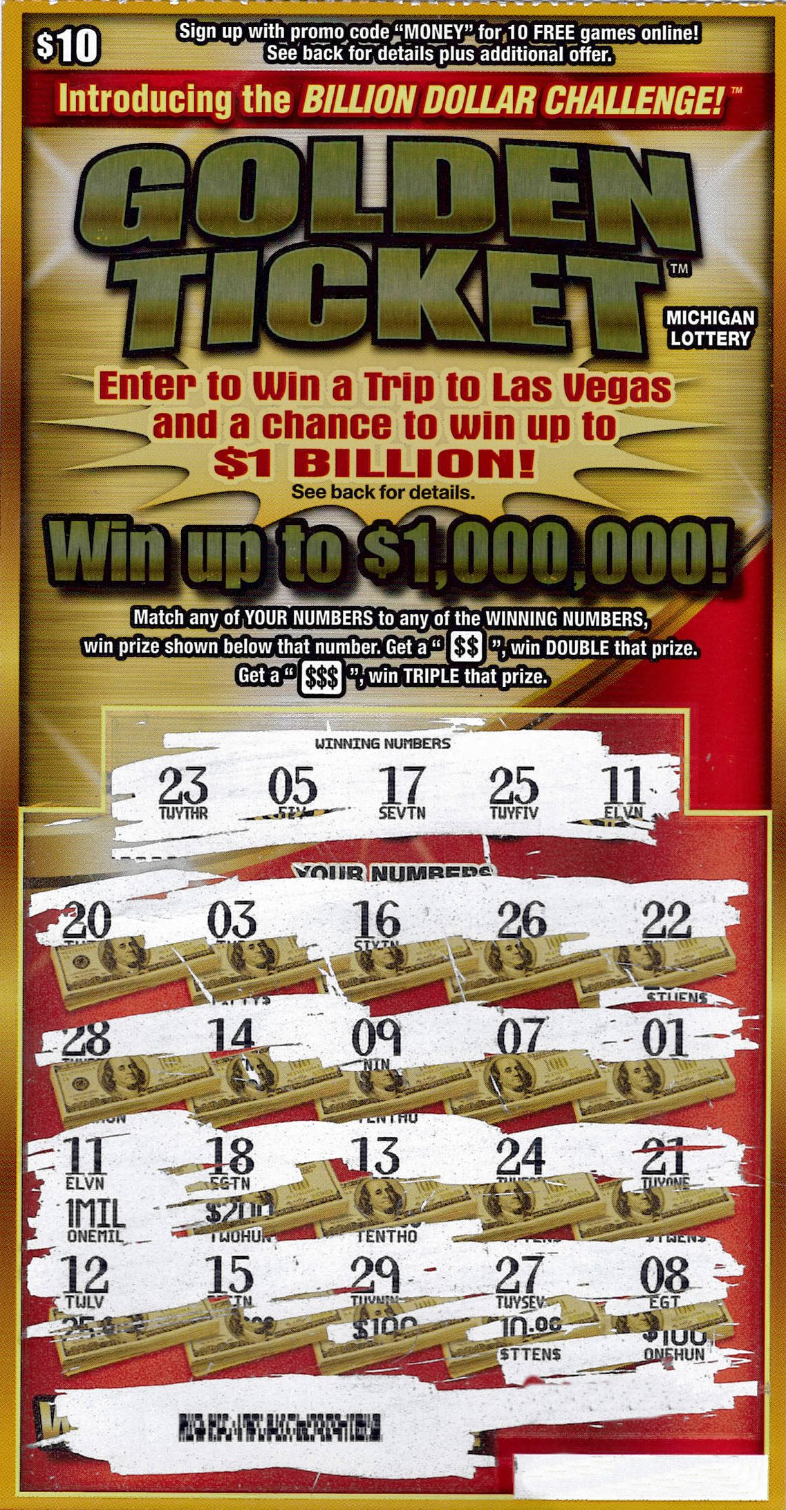 Mecosta County Woman Wins $1 Million Playing the Michigan Lottery's
