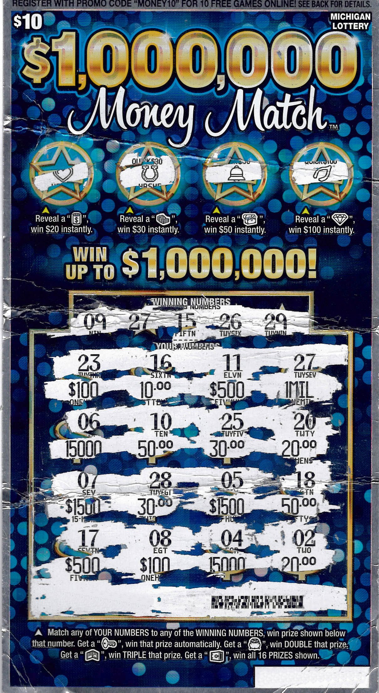 Macomb County Man Wins $1 Million Playing the Michigan